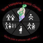 sure helpline crisis center logotype